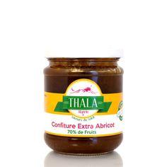 Confiture extra d'abricots cuite au chaudron Thala®
