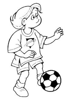 1000 images about coloriages foot on pinterest ballon d 39 or football and sports - Coloriage ballon foot ...