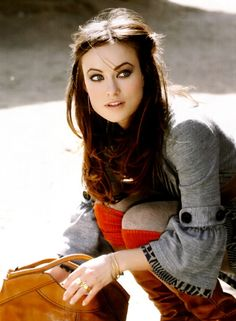 """Olivia Wilde. I first saw her in """"Cowboys and Aliens"""". What a beautiful woman - a joy to behold."""