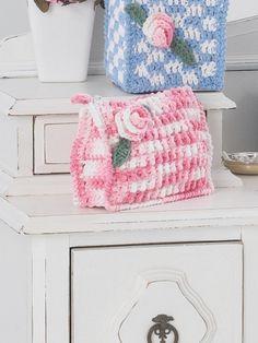 Make-up Case | Yarn | Free Knitting Patterns | Crochet Patterns | Yarnspirations