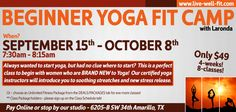 Live-Well-Fit - Women's Workouts Unique to Amarillo Beginner Workouts For Women, Workout For Beginners, How To Start Yoga, Wellness Programs, Wellness Fitness, Fit Women, Motivation, Feelings, Live