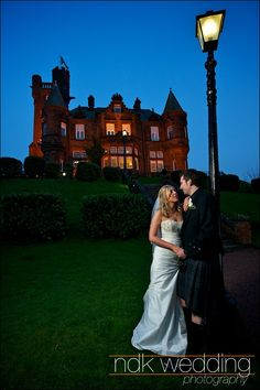 Sherbrooke Castle In Glasgow Wedding Photography Venues Scottish