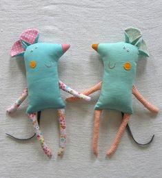 Mitzie & Mary | krakracraft | Flickr