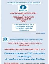 Prog Educ Personalizados y Adaptaciones Curriculares - Asperger.