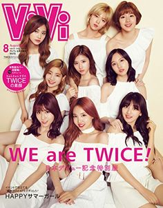 TWICE is gaining popularity among Japanese young women nowadays. Recently they covered ViVi Magazine on 2017 August Edition. TWICE prove. Twice Jungyeon, Twice Sana, South Korean Girls, Korean Girl Groups, Korean Group, Momo Mina, Vivi Fashion, Korean Fashion, Twice Group