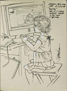 jatmika sketch & drawing: Anakku Bening