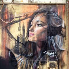Amsterdam. #adnate #awolcrew #street art / graffiti