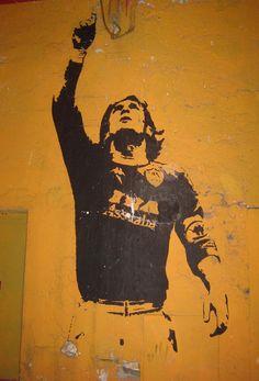 Totti Murales in Rome