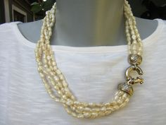Agate, Pearl Necklace, Pearls, Shopping, Vintage, Jewelry, Fashion, Crystal, String Of Pearls