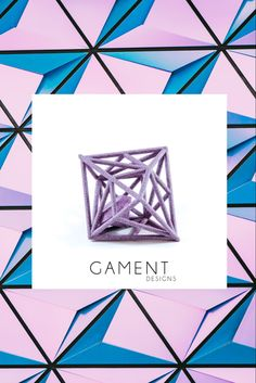 Add a little bling to your wardrobe with our printed Diamond in the Rough pendant from GAMENT Designs. Rough Diamond, Diamond Rings, Design Movements, Sterling Silver Chains, Geometry, Jewelry Collection, 3d Printing, Bling, Gemstones
