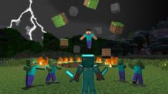 Find the best Minecraft Wallpaper Herobrine on GetWallpapers. We have background pictures for you! Minecraft Mods, Minecraft Kunst, Minecraft Pictures, Minecraft Videos, Minecraft Stuff, Herobrine Wallpaper, Minecraft Wallpaper, Sandbox, Wallpaper Downloads