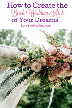 Dreaming of a birch wedding arch to really elevate your decor? Check out our guide to buying, renting, styling, and even DIYing one! Bamboo Wedding Arch, Birch Wedding, Romantic Flowers, Fake Flowers, Bridesmaids And Groomsmen, Bridesmaid Gifts, Wedding Looks, Dream Wedding, Lesbian Wedding Rings