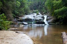 Hiking Panther Creek: One of Georgia's Most Beautiful Waterfalls #hiking #georgia #waterfalls