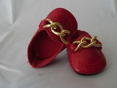 Patrones de zapatos de muñecas Nancy - Imagui