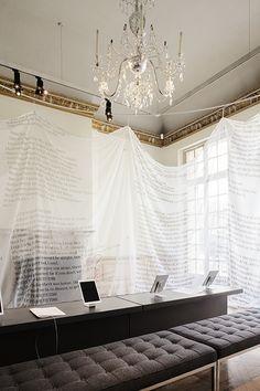 """The Wasteland's """"Reading room"""", MBAC / Julien Lelièvre"""