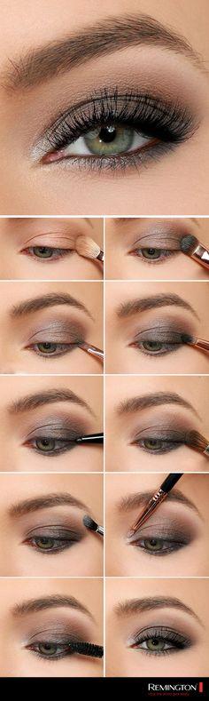 Luce una mirada inspiradora y profunda en donde sea que te pares siguiendo este sencillo tutorial.