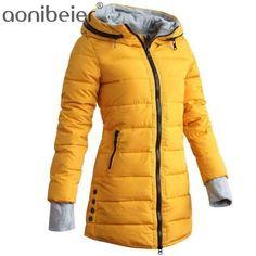 ARTFFEL Mens Winter Stand Collar Pure Color Thermal Regular Fit Down Coat Jacket Overcoat