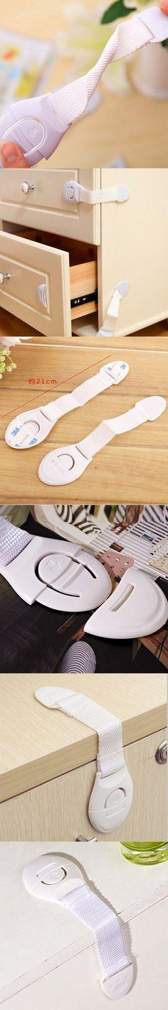 High Quality Baby Kids Multifunction Lockable  New Infant Child Toddler Cabinet Safety Fridge Drawer Door Cupboard Locks