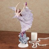 Dance Among the Flowers Fairy Figurine Lavender