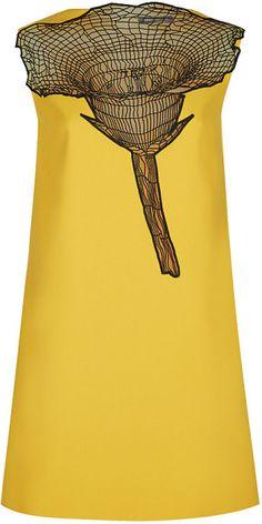 Flower Mini Dress - Christopher Kane