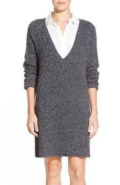 Free shipping and returns on French Connection 'Naughty Brights' Cotton Sweater Dress at Nordstrom.com. This loose and layerable sweater-dress is knit from chunky, mottled yarns for extra softness and slouch.