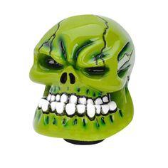 Skull Shape Resin Ceramic Car Gear Shift Knob