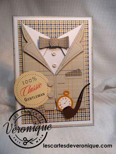 Carte 3D 100% Classic Gentleman -3D card 100% Classic Gentleman
