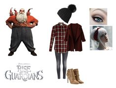 """""""Nicholas St. North"""" by themortalinstrumentslover ❤ liked on Polyvore featuring H&M, Yves Saint Laurent and Valentino"""