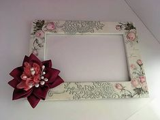Clairet / Vintage rámik Decoupage, Vintage, Frame, Home Decor, Picture Frame, Decoration Home, Room Decor, Vintage Comics, Frames