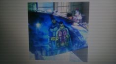 Bman n ra bin tank mural