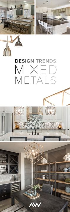 Mixing metals started appearing in 2017, but this home décor style is continuing to go strong in 2018. Expect to see beautiful mixes of silvers, bronzes, brass, gold, and more in home décor. Learn how to use this trend and find more inspiration on our blog.