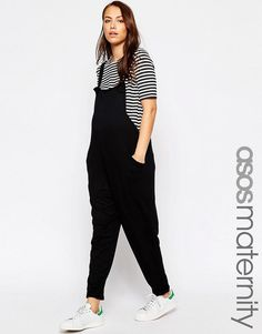 ASOS Maternity | ASOS Maternity Overall Jumpsuit In Jersey at ASOS