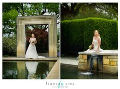 Bridal Portraits at the Dallas Arboretum Dallas Arboretum, Bridal Portraits, Photo Ideas, Wedding Dresses, Fashion, Bridal Dresses, Moda, Bridal Gowns, Wedding Gowns