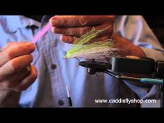 Coho Salmon Bucktail Trolling Fly