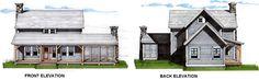 The Keowee Timber Frame Floor Plan (add 3rd bedroom?)