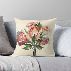 """Rosenstrauß"" von Mojart   Redbubble Vintage Designs, Lamb, Throw Pillows, Art Prints, Shop, Tatoo, Ipad Sleeve, Stationery Set, Mini Skirts"