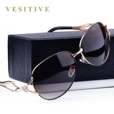 046061c4f3 Fashion Polarized Sunglasses Women Diamond Luxury Brand Design Sun Glasses  Female Polaroid Len