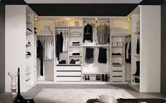 21 Elegant And Gorgeous Walk-In Closet Designs - Top Inspirations Walk In Closet Design, Wardrobe Design, Closet Designs, Wardrobe Closet, Closet Bedroom, Open Wardrobe, Closet Space, Dressing Room Design, Walking Closet
