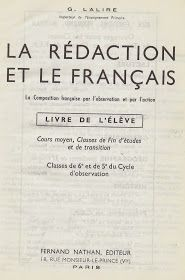 G Lalire La Redaction Et Le Francais Cm Cs Cep 6e 5e