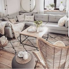 Wonderful Neutral Living Room Design Ideas To Try Contemporary living room design is known to have clean lines in the design of its furniture pieces, as well as […] Neutral Living Room Design, Living Room Scandinavian, Living Room Designs, College Living Rooms, Apartment Living Room, Living Decor, College Apartment Decor, Apartment Decorating College Living Room, Apartment Decorating Living