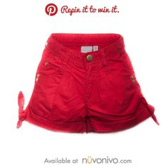 Repin it to win it! Sweet Shorts by Blue Seven. Retail price: $26.00.