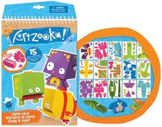 Artzooka Creative Paper Book - Paper Monsters