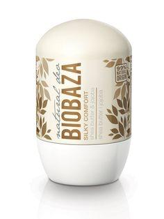 Deodorantul natural pentru femei SILKY COMFORT (cu shea și jojoba), de la Biobaza, conține extracte din frunze de salvie și măslin, unt shea, ulei de jojoba și săruri minerale din piatră de alaun ce îngrijesc pielea și au efect antibacterian, oferind o senzație plăcută de prospețime pentru întreaga zi.  #deodorant #shea #alaun #ingrijire #organik