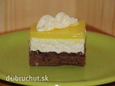 Tvarohové rezy so želatínou *** Recept zde : http://dobruchut.azet.sk/recept/30300/tvarohove-rezy-so-zelatinou/