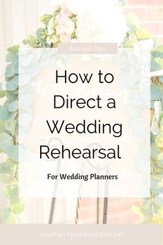 wedding planner Wedding Planners can learn How to Direct a Wedding Rehearsal Event Planning Business, Wedding Planning Tips, Wedding Ideas, Budget Wedding, Wedding Day Tips, Wedding Planning Inspiration, Event Planning Design, Wedding Pictures, Party Planning