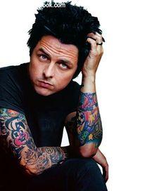 Los tatuajes de Billie Joe Armstrong de Green Day | Tatuajes Book