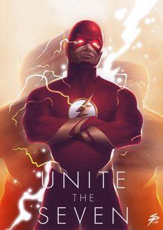 Dc Comics Superheroes, Dc Comics Characters, Dc Comics Art, Marvel Dc Comics, Flash Barry Allen, O Flash, Flash Comics, Dc World, Dc Movies