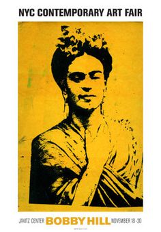 Kahlo Art Print by Bobby Hill