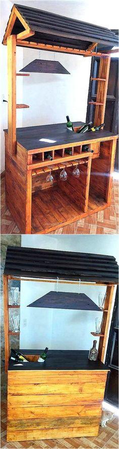 wooden-pallet-bar