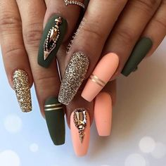 Long Coffin Nails Design ❤️ Examples of Beautiful Long Nails to Inspire You❤️ See more: https://naildesignsjournal.com/long-nails-ideas/ #naildesignsjournal #nails #nailart #naildesigns